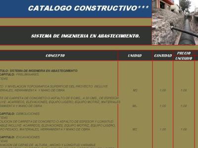 CONSTRUCTION CATALOG SUPPLY LINES