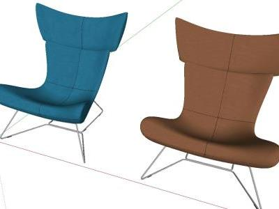 Modern 3D Sketchup chair