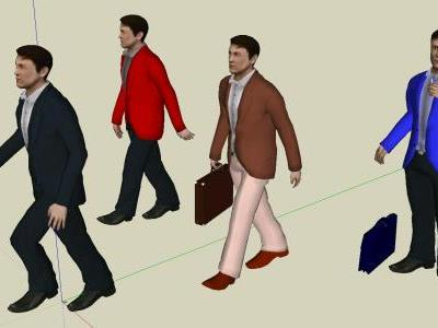 3D People Sketchup