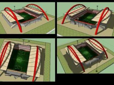 STADIUM OF FOOTBALL (ARQ. ALCEDO CAMILOAGA)