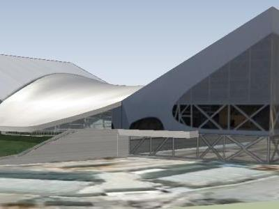 London Aquatics Center - Architecture - Zaha Hadid Architects