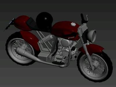 3d motorcycle max