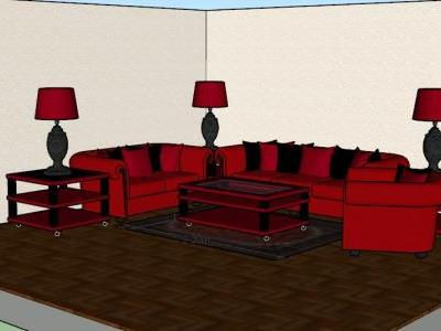 Living room - furniture