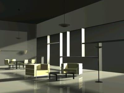 Interior lights in 3d max vray