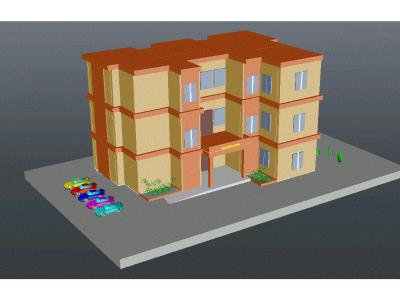 3D INSTITUTIONAL BUILDING