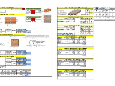 CALCULATION OF MATERIALS IN CONSTRUCTION