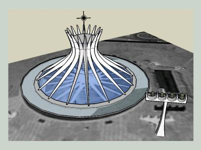 Cathedral - Oscar Niemeyer