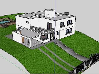 3D Single Family Home