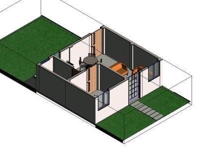 Own Roof Module 3D Revit