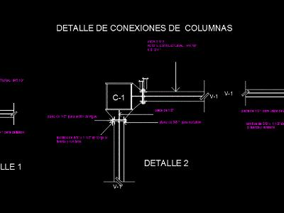 Column connection details