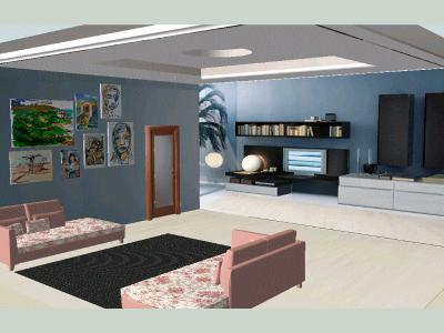 LIVING ROOM; INTERIOR DECORATION