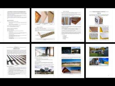 PREFABRICATED CONSTRUCTION MATERIALS - APPLIED IN ARCHITECTURE